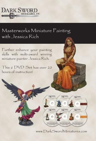 Painting DVDs: Jessica Rich Masterworks Miniatures