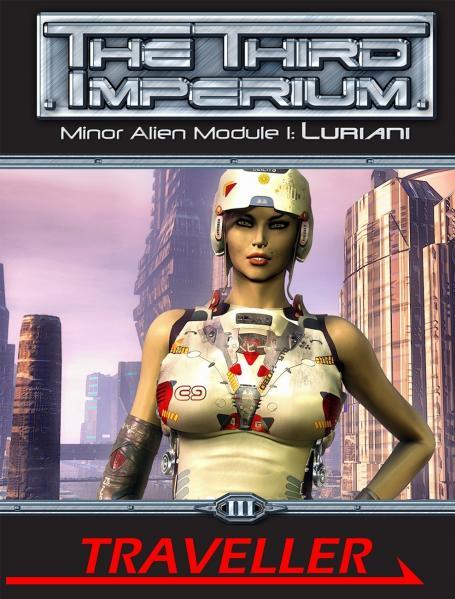 Traveller RPG - Minor Alien Module 1: Luriani