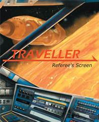 Traveller RPG: Referee's Screen