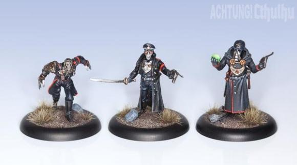 Achtung! Cthulhu Miniatures: Nazi Villains - Black Sun (3)