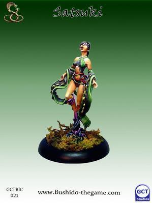 Bushido Miniatures: (Ito Clan) Satsuki, Orochi Priestess