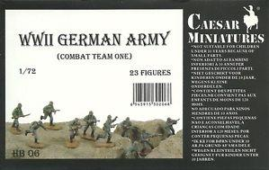 Caesar Miniatures: German Army Combat Team One Set