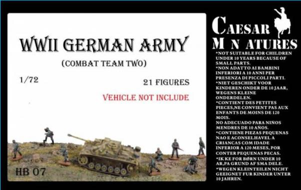 Caesar Miniatures: German Army Combat Team Two
