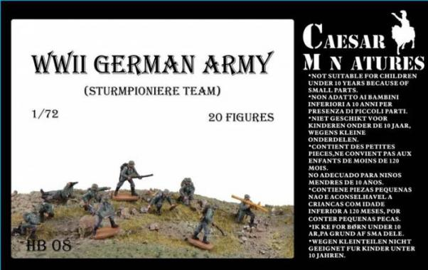Caesar Miniatures: German Army Sturmpioniere