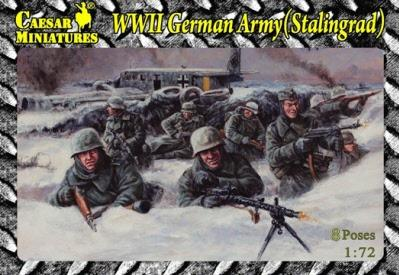 Caesar Miniatures: German Army Stalingrad