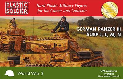 20mm WWII: German Panzer III J, L. M and N Tank