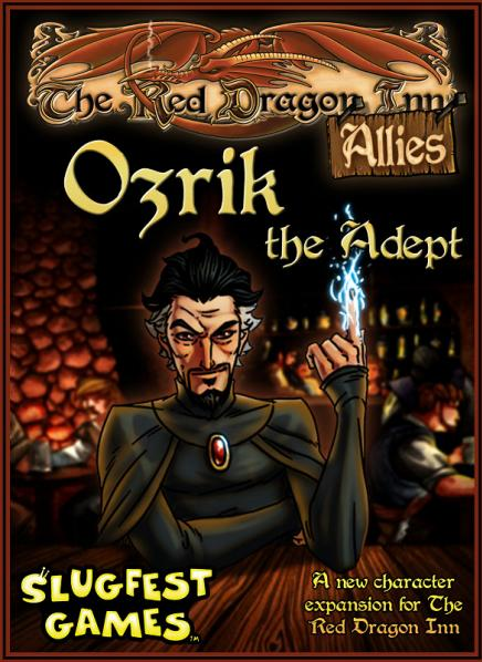 Red Dragon Inn Expansion: Allies - Ozrik the Adept