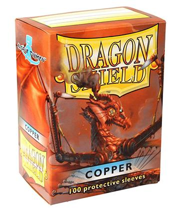 Dragon Shields: Classic Copper Card Sleeves (100)