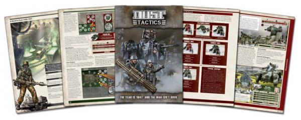 Dust Tactics: Dust Tactics Rulebook