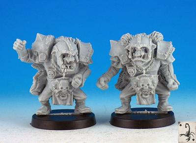 Fantasy Football Miniatures: Black Orcs