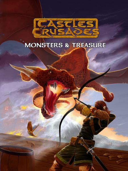 Castles & Crusades RPG: Monsters & Treasures HC [4th Printing]