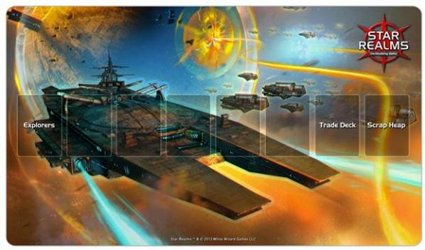Star Realms: War World Play Mat