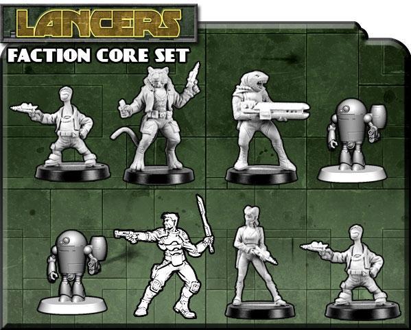 Counterblast: Lancers Core Set