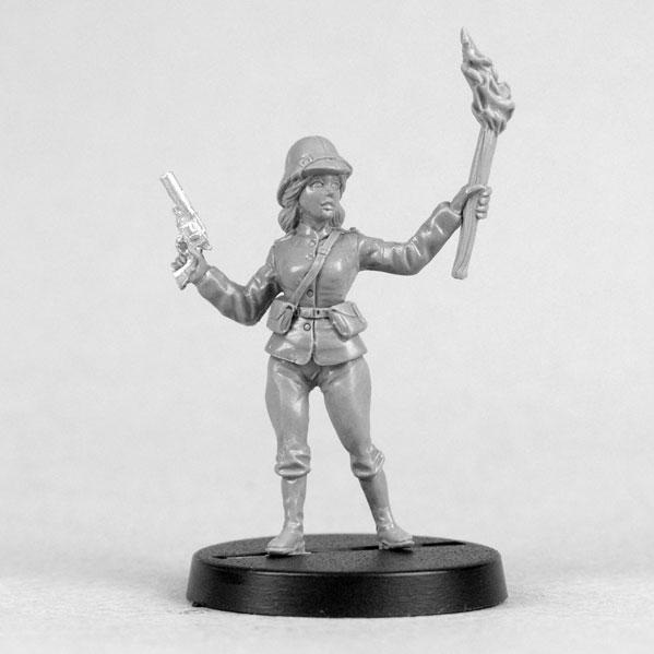 Bombshell Miniatures: Evelyn the Explorer
