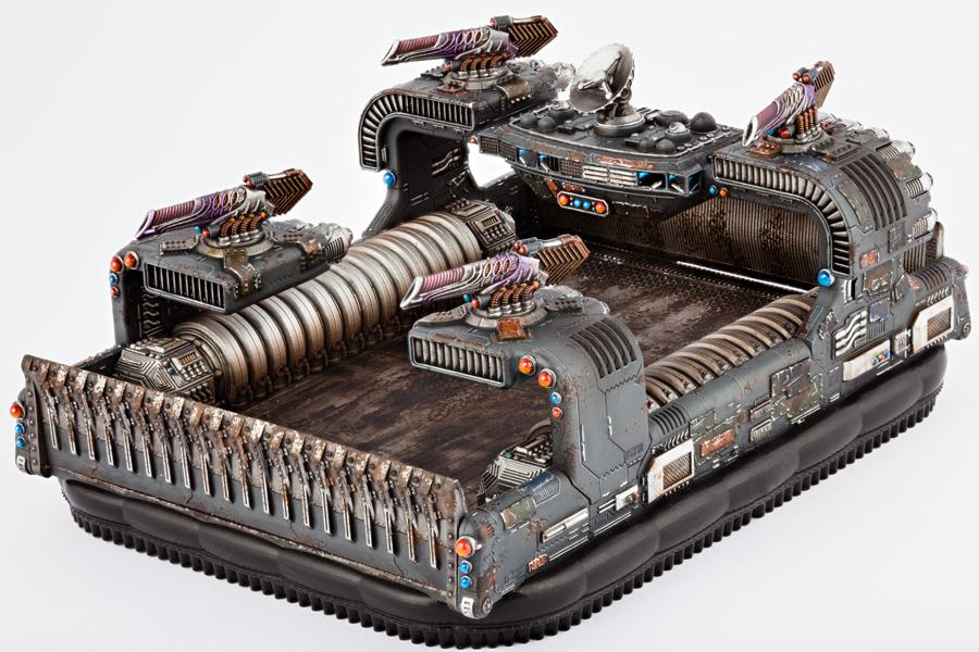 (The Resistance) Thunderstorm Command Hovercraft