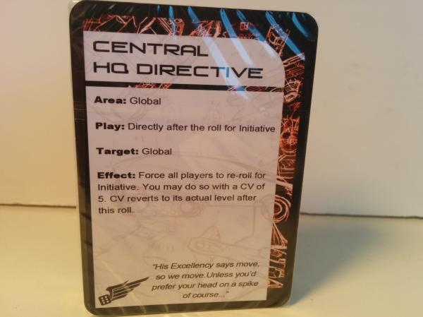 (The Resistance) Dual Command Cards