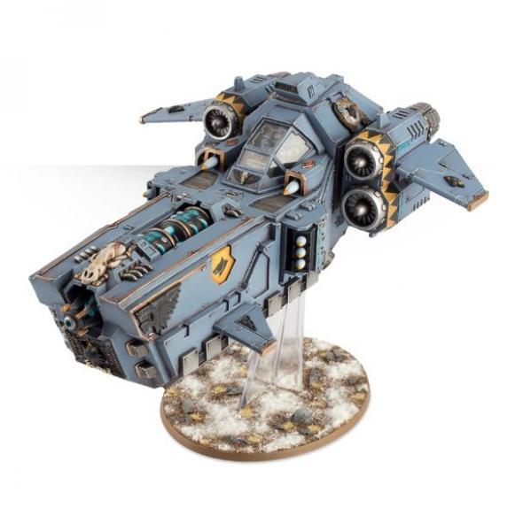 Warhammer 40K: Space Wolves Stormfang Gunship