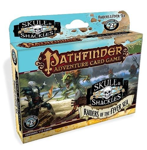Pathfinder Adventure Card Game: Skull & Shackles Adventure Deck 2: Raiders of the Fever Sea (PACG)