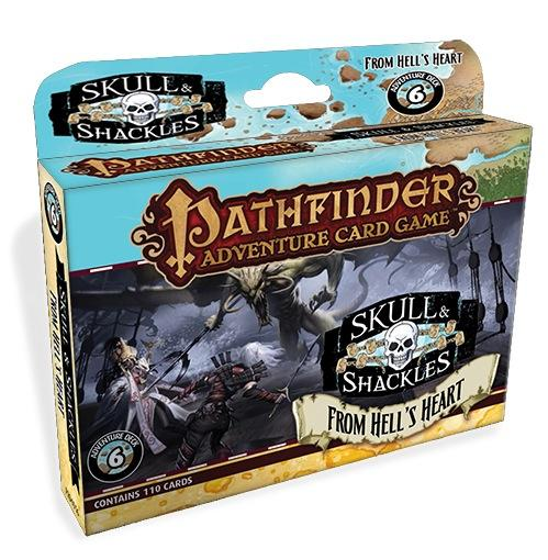 Pathfinder Adventure Card Game: Skull & Shackles Adventure Deck 6: From Hell's Heart (PACG)