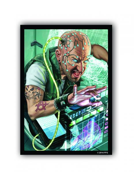 Android Netrunner LCG: Netrunner Inside Job Art Sleeves