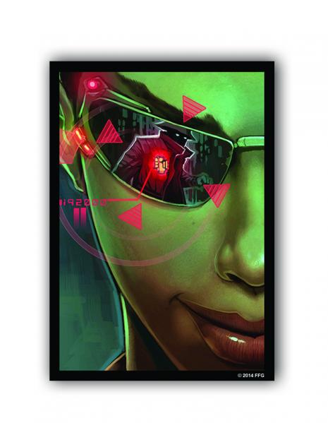 Android Netrunner LCG: Netrunner Posted Bounty Art Sleeves