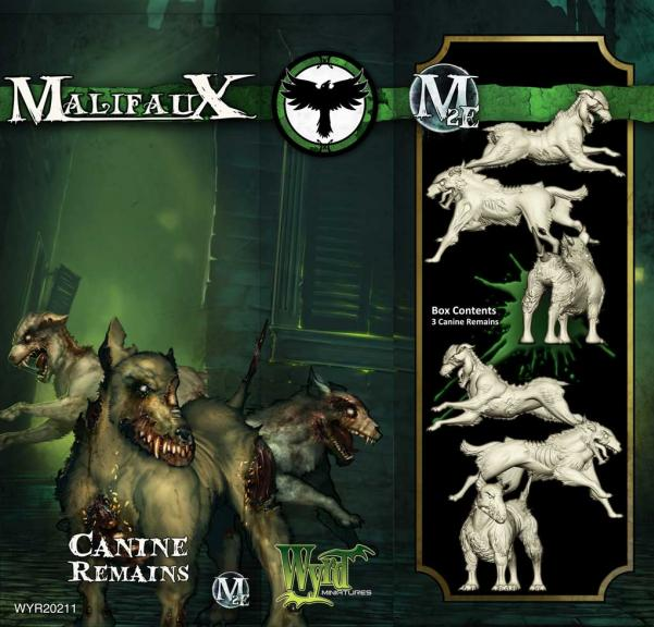 Malifaux: (The Resurrectionists) Canine Remains (3)
