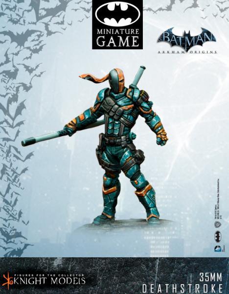 Batman Miniature Game: Deathstroke (Arkham Origins)