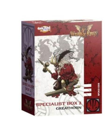 Wrath of Kings: House Nasier - Great Horn Box