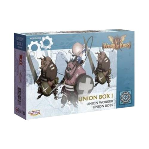 Wrath of Kings: House Teknes - Union Unit Box