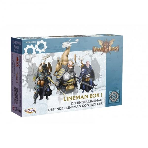 Wrath of Kings: House Teknes - Lineman Unit Box