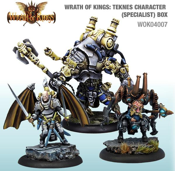 Wrath of Kings: House Teknes - Character Specialist Box