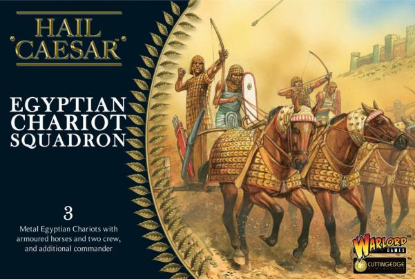 Hail Caesar - Egyptian: Chariot Squadron [Box]