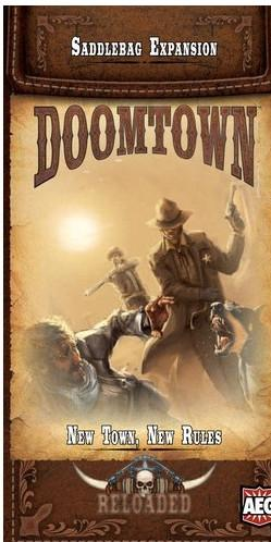 Doomtown Reloaded ECG: New Town, New Rules (Saddlebag Expansion)
