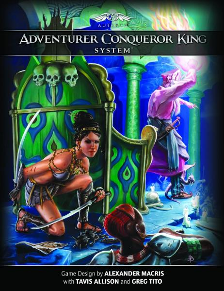 Adventurer Conquer King System RPG: Revised Rules