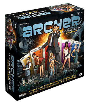 Archer: The Danger Zone Board Game