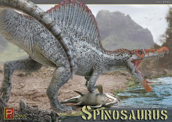 1/24 Scale: Spinosaurus Dinosaur