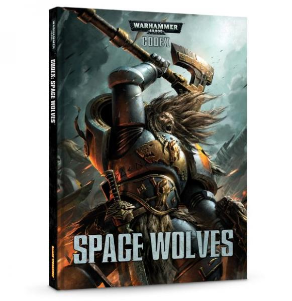Warhammer 40K: Space Wolves Codex (HC)