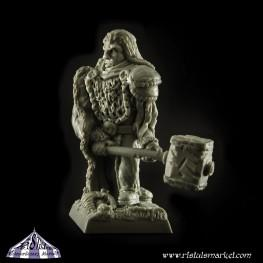 Extraordinary Fantasy Miniatures: Omad, the Warrior Chieftain
