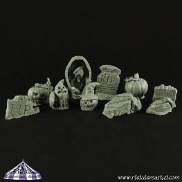 Extraordinary Basing Kits: Halloween Kit (10)