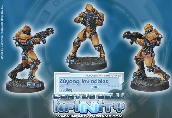 Infinity (#482) Yu Jing: Zuyong Invincibles (Terracotta Soldiers) (HMG)