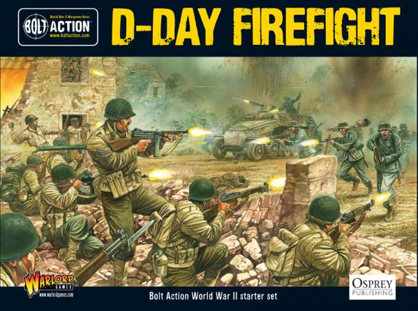 Bolt Action: D-Day Firefight Two-Player Starter Set
