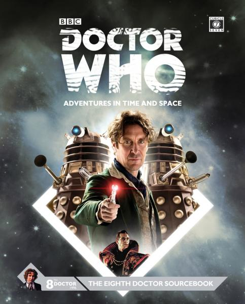 Doctor Who RPG: The Eighth Doctor Sourcebook (HC)