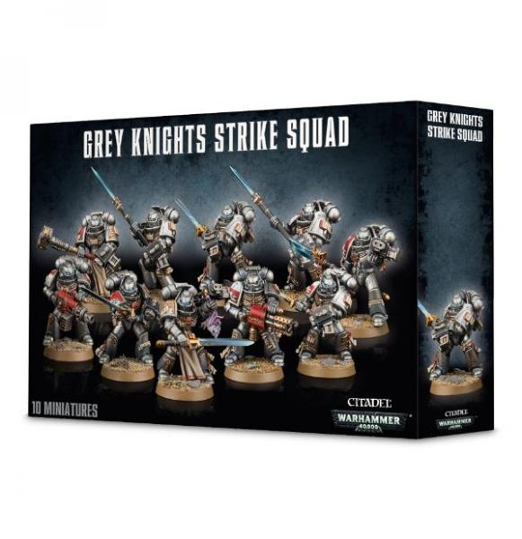 WH40K: Grey Knights Strike Squad