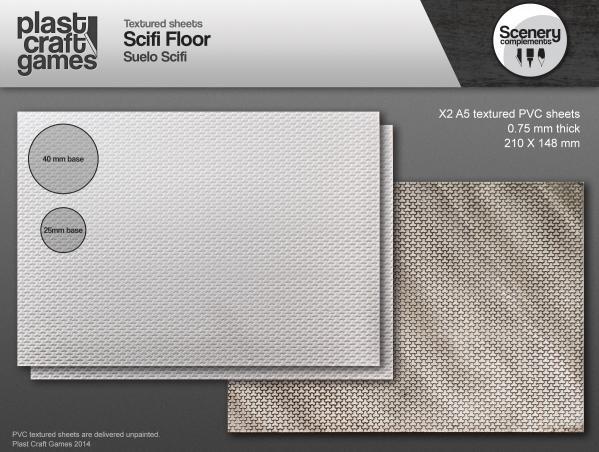 28mm Scenery Compliments: Scifi Floor