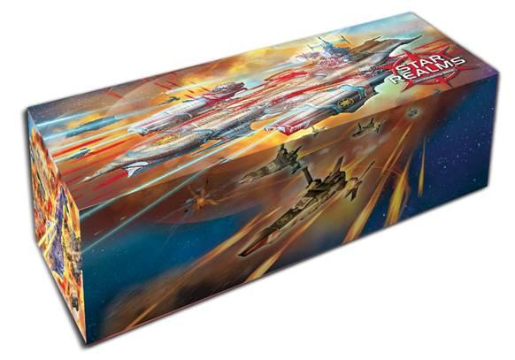 Star Realms: 400 Count Cardbox (w/224 Sleeves & 3 Promo Cards)