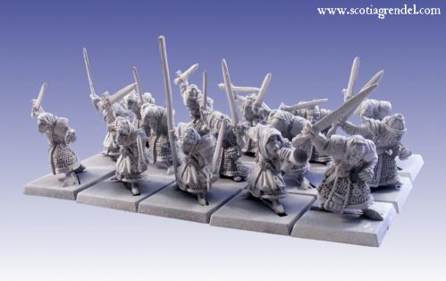 Grendel Metal Figures: Stygian Orc Regiment