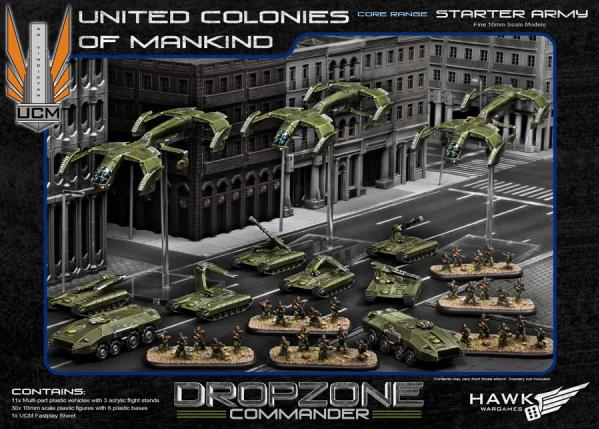 (United Colonies Of Mankind) Starter Army [Plastic]