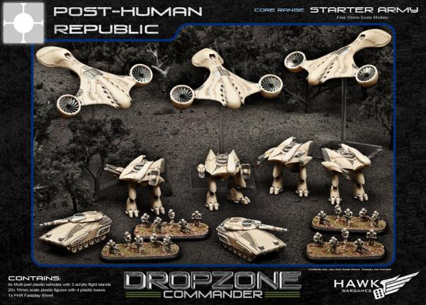 (Post-Human Republic) Starter Army [Plastic]