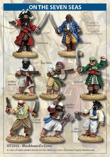 On The Seven Seas: Blackbeard's Crew