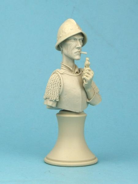 28mm Discworld Miniatures: Vimes Bust Unpainted (1)